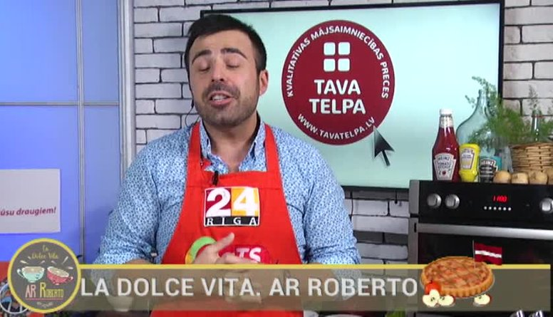 06.11.2017 La Dolce Vita. Ar Roberto 1. daļa