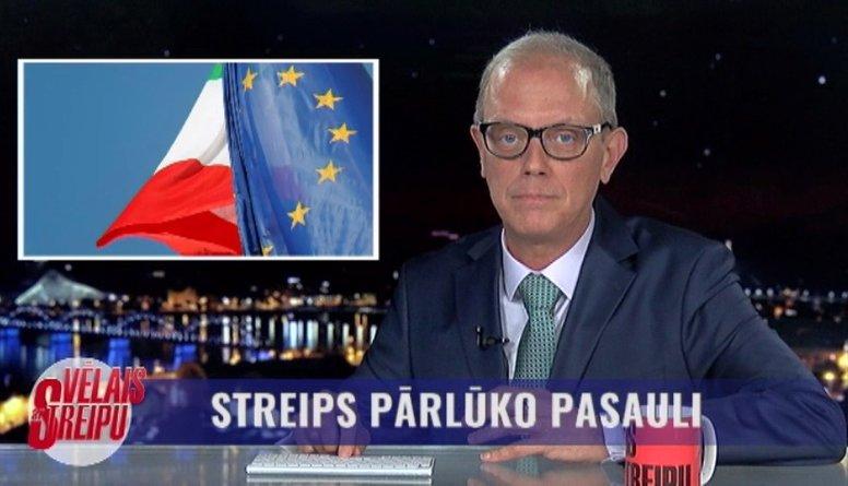 Eiropas Komisija liek Itālijas valdībai pārstrādāt budžeta plānu