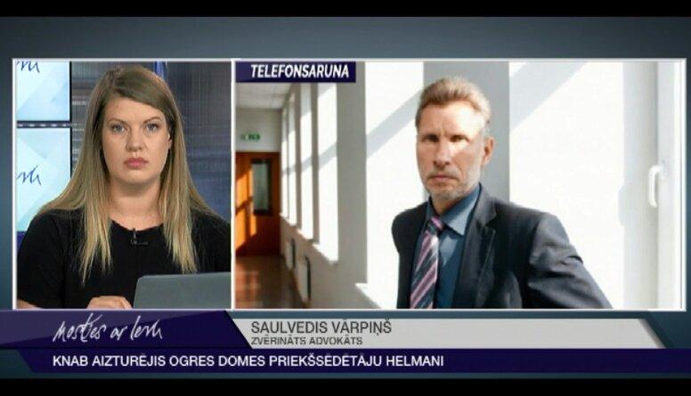 Advokāts Vārpiņš skaidro Ogres novada mēra aizturēšanas iemeslus
