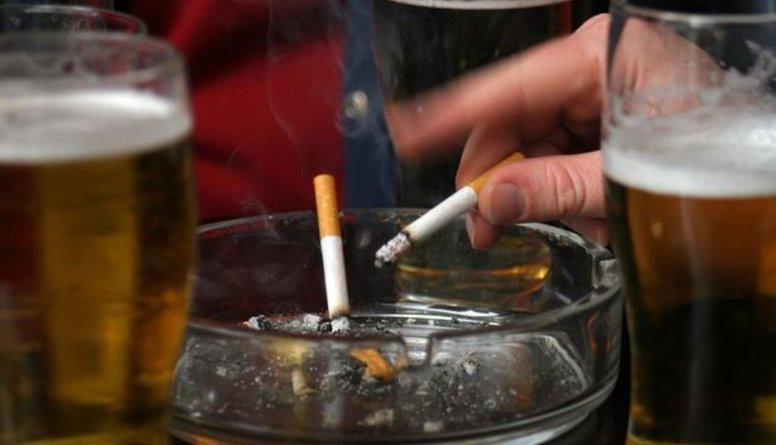 Alkohols un smēķēšana bojā kuņģa gļotādu!