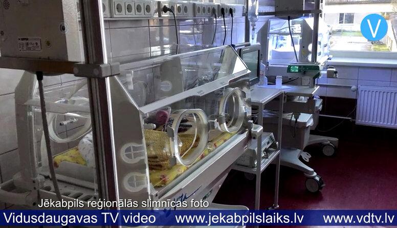 Jēkabpils reģionālajai slimnīcai jauni inkubatori jaundzimušajiem