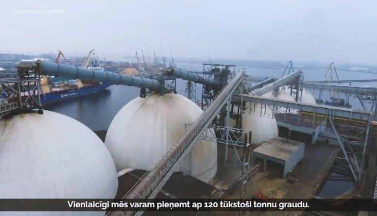 Rīgas Ostā pārkrauto labības produktu apjoms sasniedzis jaunu rekordu