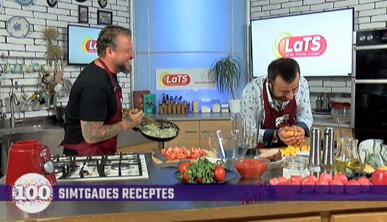 Kuriozs virtuvē: kulinārijas raidījuma laikā pazūd gāze plīts virsmai