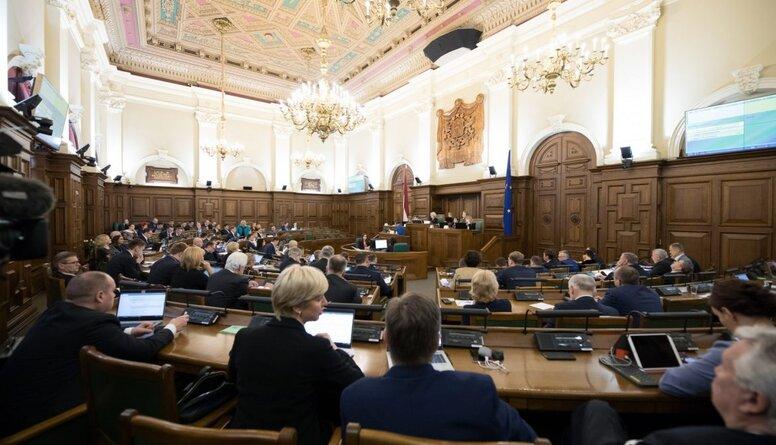 Parakstu vākšana nerezultēsies ar Saeimas atlaišanu, prognozē Cālītis