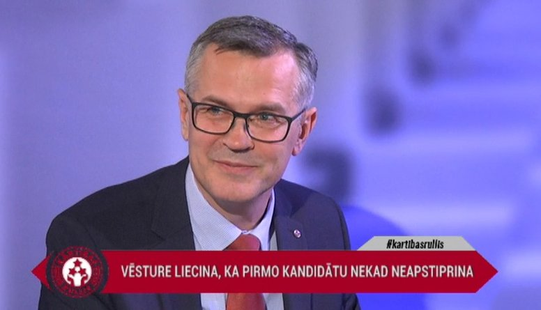 """Latkovskis atklāj, kādēļ """"Jaunā Vienotība"""" nevirzīs savu prezidenta kandidātu"""