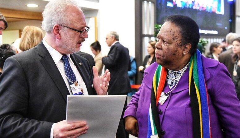 Levits: DĀR ārlietu ministrei iesniedzu sadarbības priekšlikumus