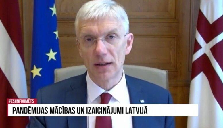 """Krišjānis Kariņš par masu vakcinācijas punktiem un NBS plānu """"B"""""""