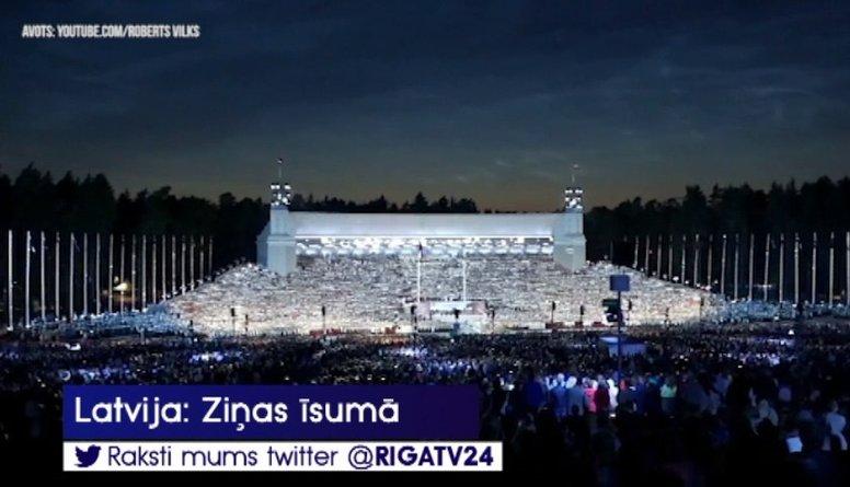 XXVI Vispārējie latviešu Dziesmu un XVI Deju svētki pulcējuši rekordlielu apmeklētāju skaitu