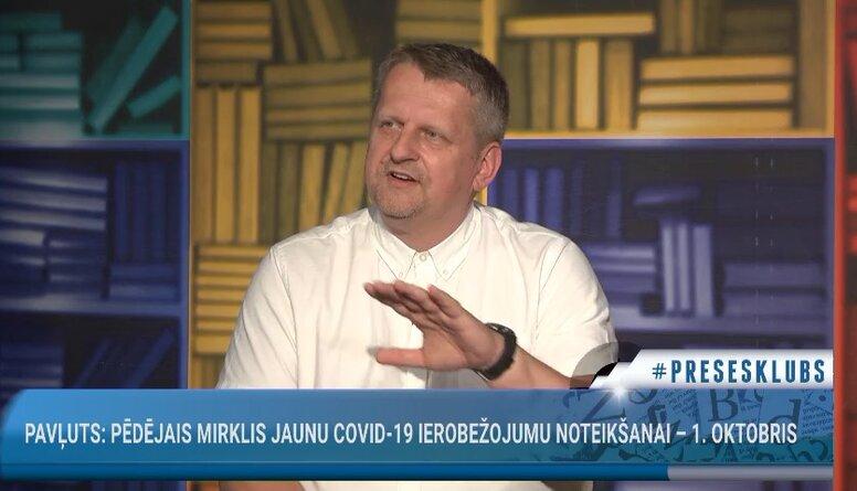 Gatis Kokins salīdzina vakcinācijas tempus Baltijas valstīs