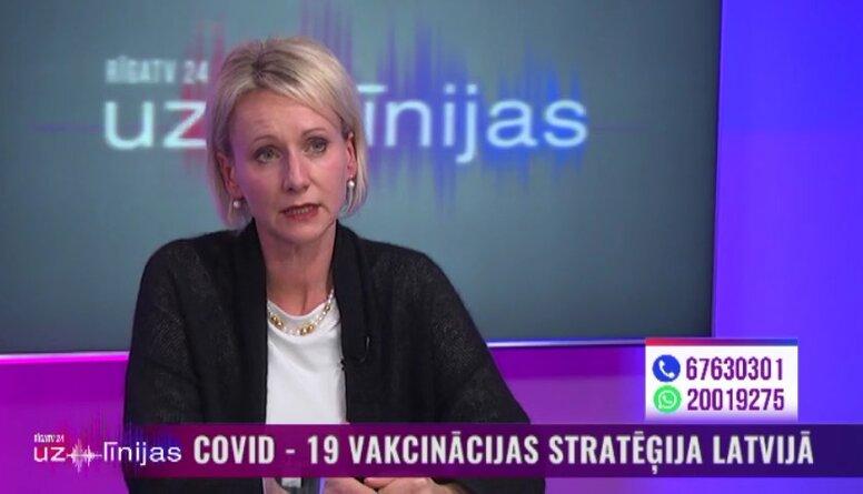 Zavadska: Pret Covid-19 būs jāvakcinējas divreiz