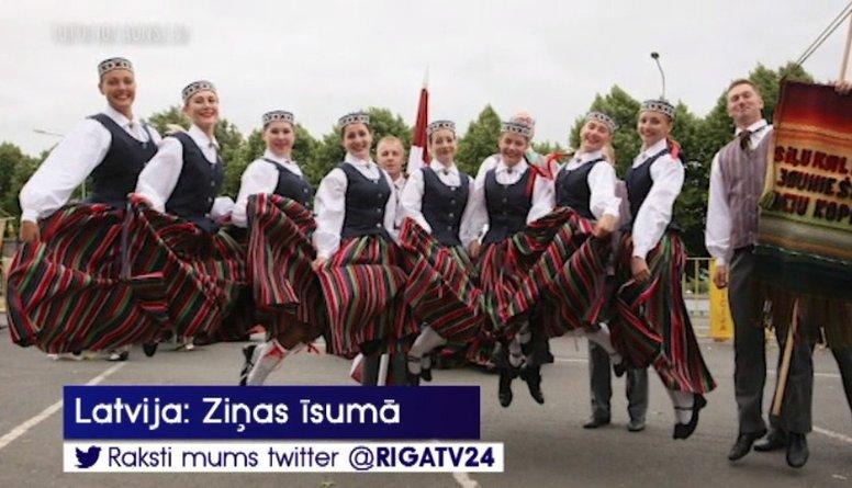 Kā norisinājās XXVI Vispārējo latviešu Dziesmu un XVI deju svētku dalībnieku gājiens?
