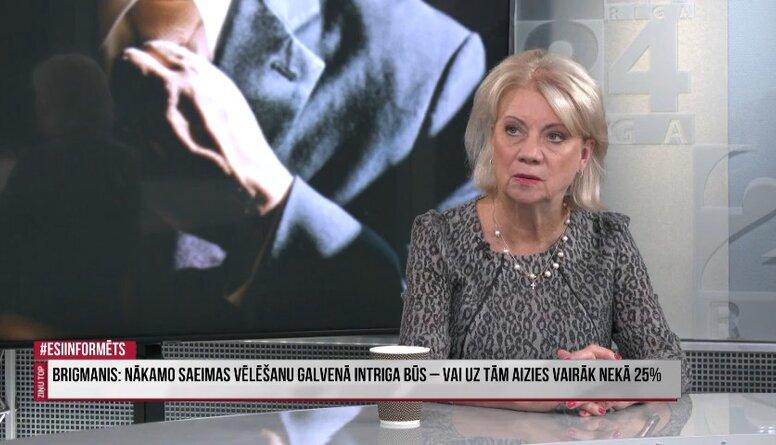 Ilze Jurkāne: Šlesers pat nekautrējas izmantot Trampa saukli