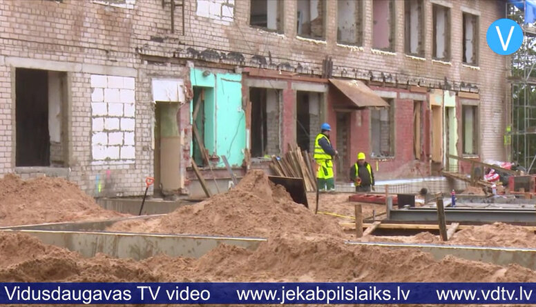 Jēkabpilī pārbūvē infrastruktūru
