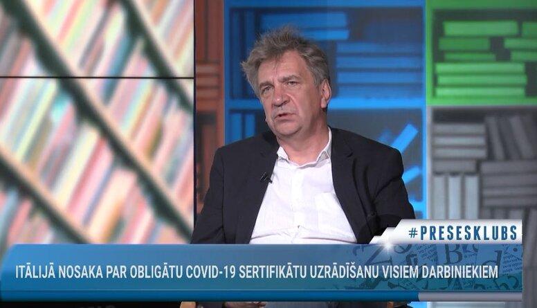 Ēķis: Latvijā vakcinācijas kampaņas bija izšķiesta nauda