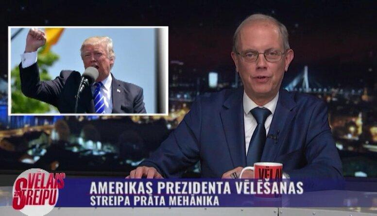 Streipa prāta mehānika: Amerikas prezidents vēlēšanas