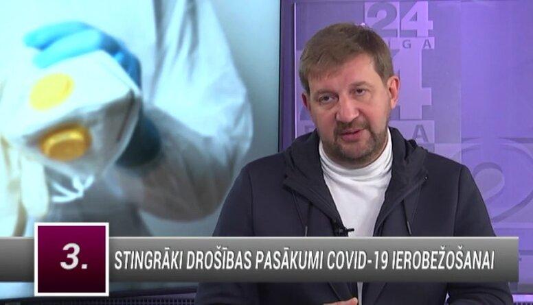 Klementjevs: Esmu gatavs visiem ierobežojumiem, lai mums nebūtu jāšķiro pacienti slimnīcās