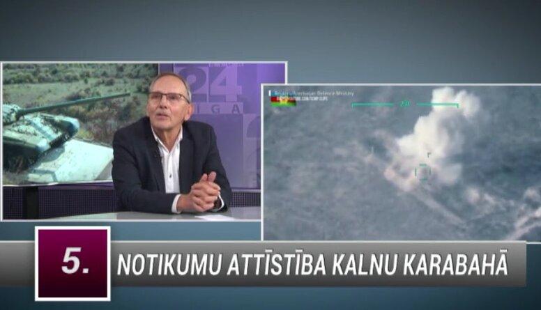 Aleksandrs Kiršteins komentē notikumu attīstību Kalnu Karabahā