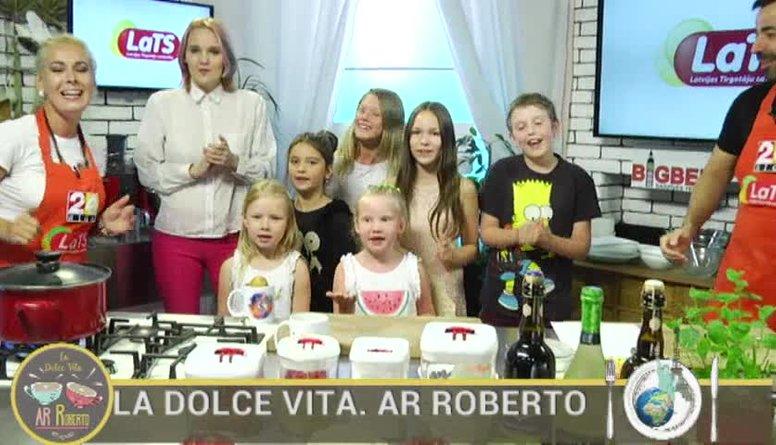 23.08.2017 La Dolce Vita. Ar Roberto 1. daļa