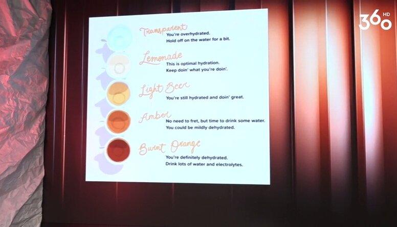 Kādā krāsā jābūt urīnam?