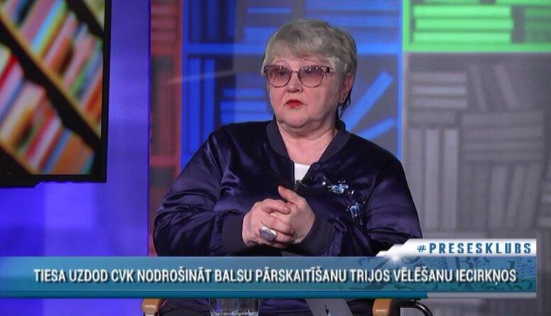 Aija Strautmane par RD vēlēšanu triju iecirkņu balsu pārskaitīšanu