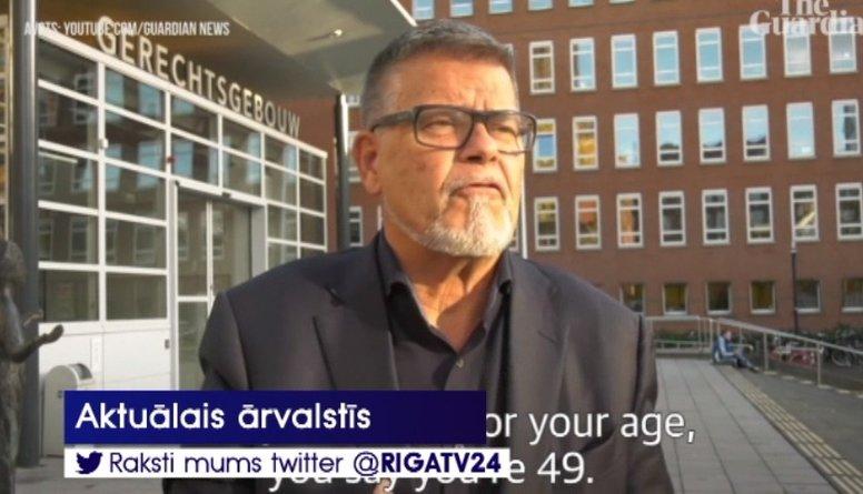 Komiski: Vīrietis Nīderlandē lūdz tiesai atskaitīt 20 gadus no viņa vecuma