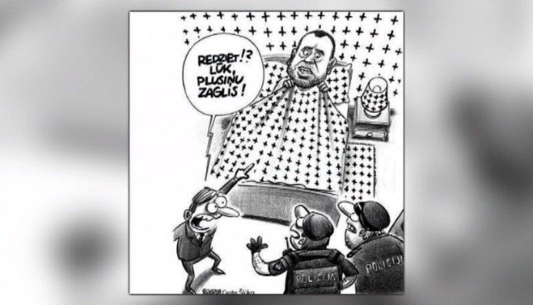 Aplūko: Latvijas politiskā dzīve karikatūrās