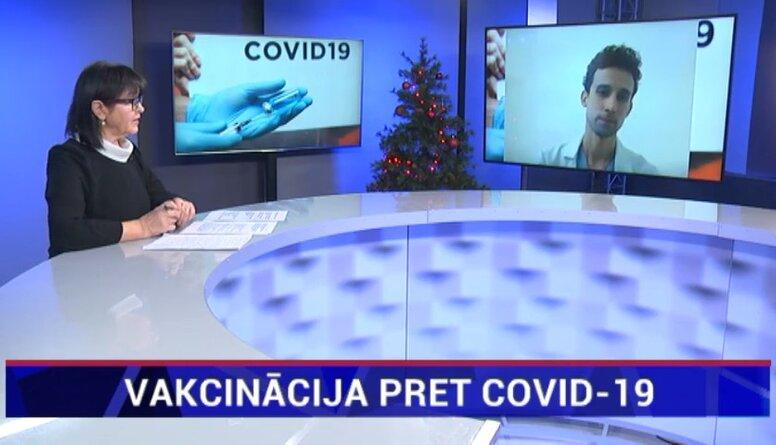 Rācenis: Ar Covid-19 vakcīnu mūsu imūnās šūnas iemācās atpazīt vīrusa virsmas antigēnu