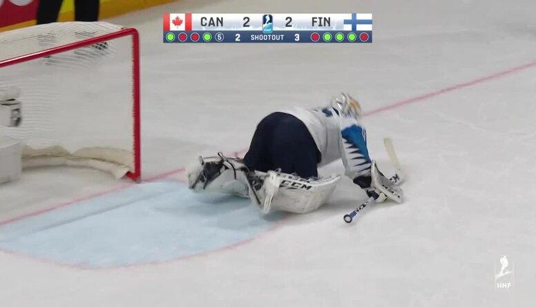 Spilgtākie momenti: Kanāda pret Somiju