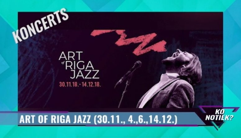 Sācies Art of Riga Jazz - nenokavē!