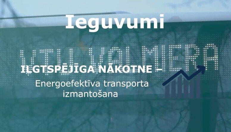 Jauni videi draudzīgi dīzeļa hibrīdautobusi Valmierā