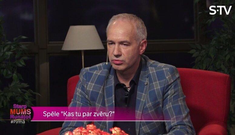 Dinsbergs: Man loterijā nekad neveicas, man veicas mīlestībā!