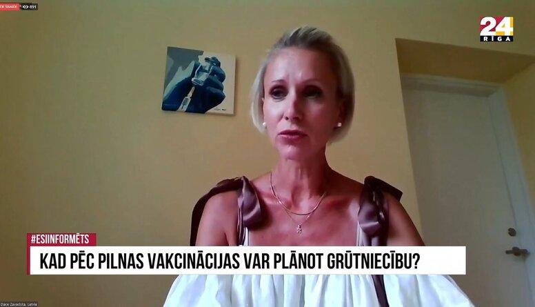Dace Zavadska: Vakcīnas, kas radītas pret Covid-19, nevar ietekmēt reproduktīvo sistēmu