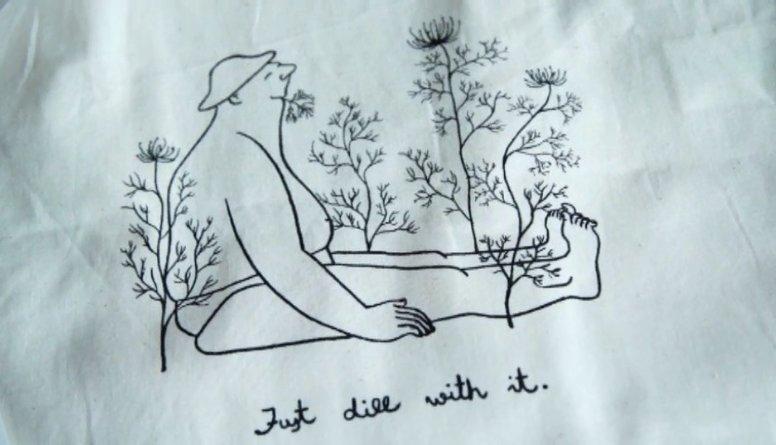 Vieglums un omulība ilustratores Kristas Miltiņas darbos