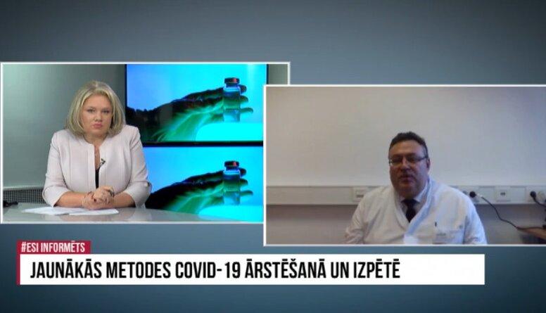 Uldis Kopeika par Covid-19 pacientu ārstēšanu Vācijā