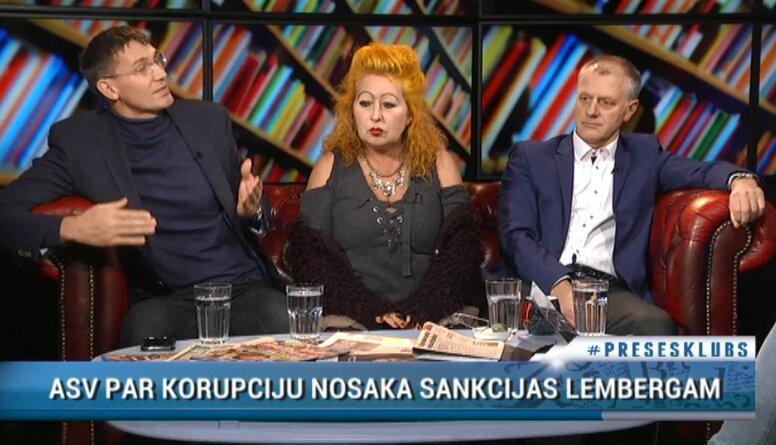 Diskusija: ASV sankcijas Lembergam - palīdzīga roka cīņai pret korupciju Latvijā?