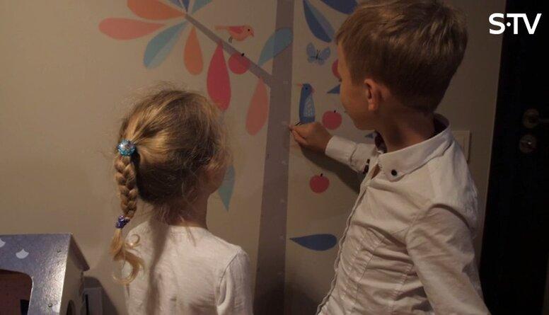 Kā ātri un vienkārši veikt remontu bērnistabā?