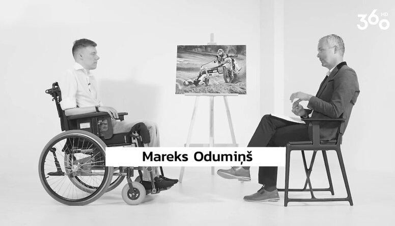 Kādu nākotni sev redz Mareks Odumiņš?