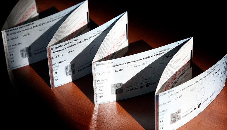 LNKC no Biļešu paradīzes pieprasa 76 512 eiro, kas gūti no Dziesmu un deju svētku biļešu tirdzniecības
