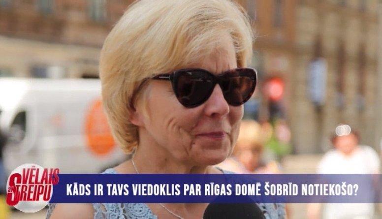 Iedzīvotāju viedokļi par notiekošo Rīgas domē