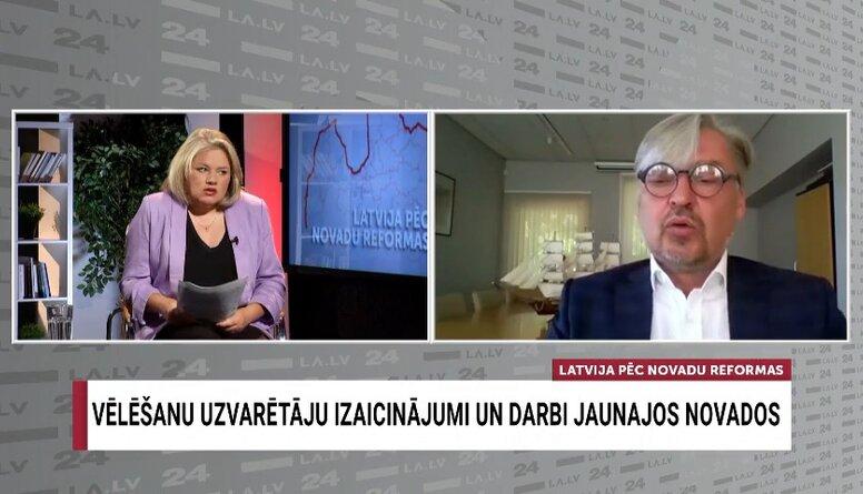Straubergs: Iedzīvotāju padomes nav nekas jauns