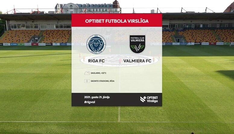 """Matrevica lieliskā spēle vārtos neglābj """"Valmieru"""" no zaudējuma pret """"Riga FC"""""""