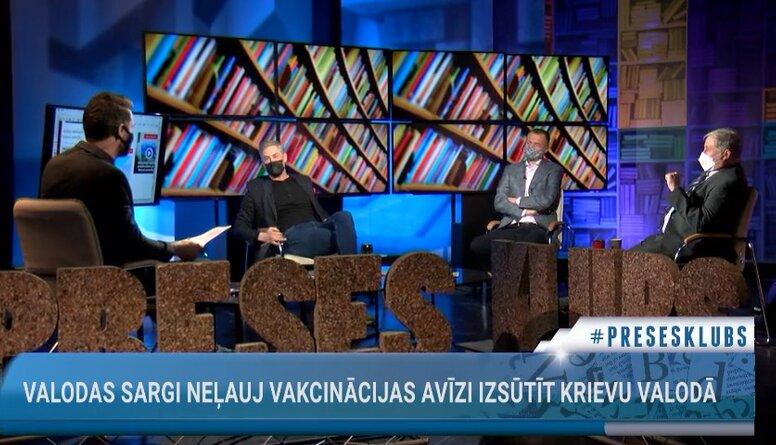 Valodas sargi neļauj Vakcinācijas avīzi izsūtīt krievu valodā