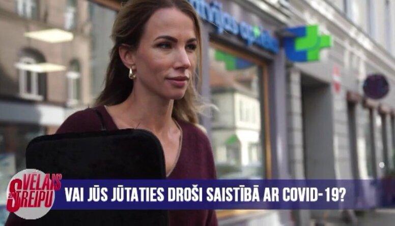 Vai jūties Latvijā droši saistībā ar Covid-19?