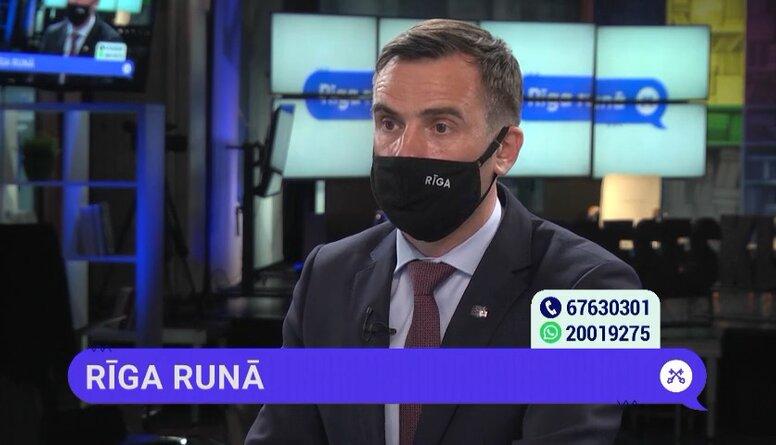 Rīgas mērs komentē starppilsētu autobusu stāvvietu problēmu