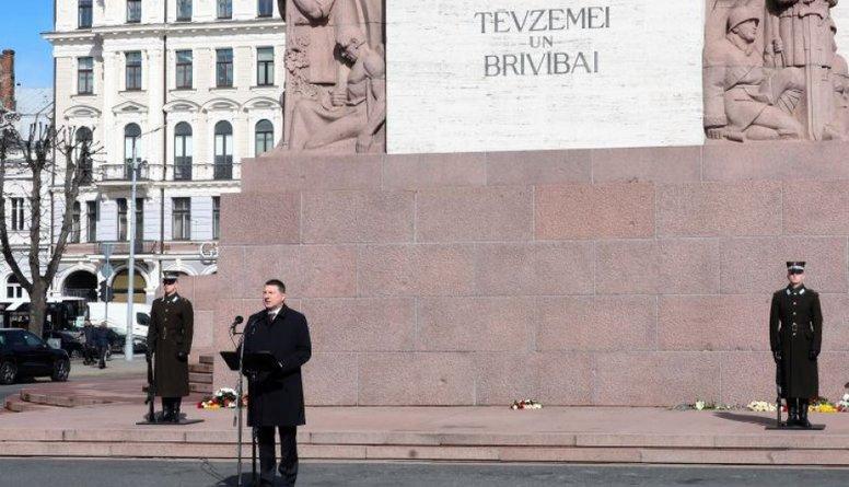Vējoņa genocīda piemiņas runā dzirdams kremlisks piesitiens?