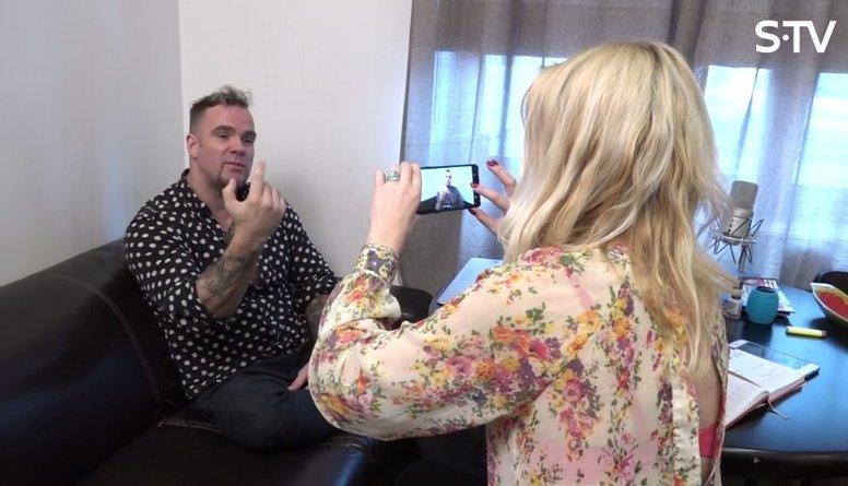Ieskaties aizkulisēs - kā Kivičs veido video vēstījumu Neidam
