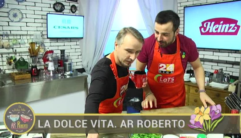 29.03.2017 La Dolce Vita. Ar Roberto 1. daļa
