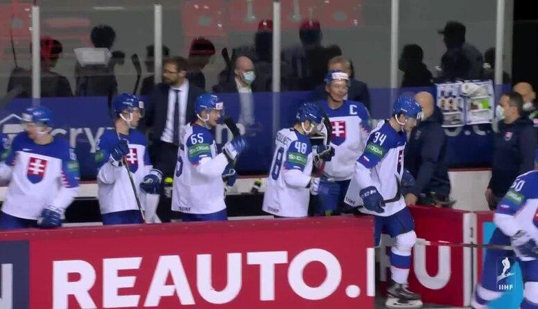 Spilgtākie momenti: Slovākija pret Dāniju