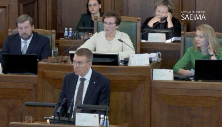 Speciālizlaidums: Ikgadējās ārlietu debates Saeimā 1. daļa