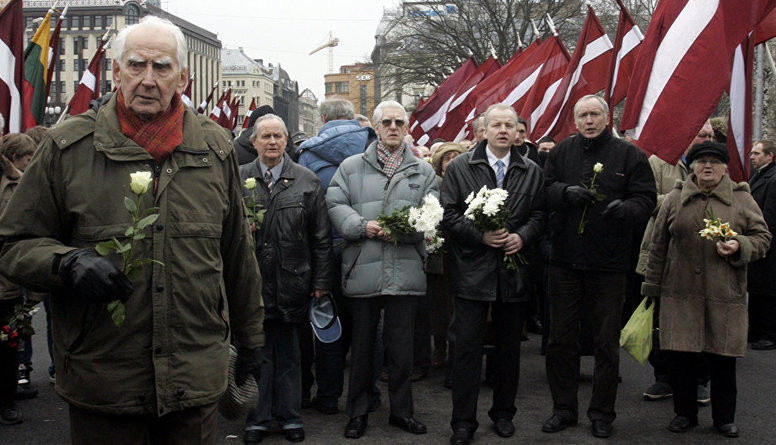 """""""Latviešu sabiedrībai leģionāri ir jāaizstāv,"""" uzskata Beitnere-Le Galla"""